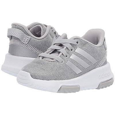 adidas Kids Cloudfoam Racer TR (Infant/Toddler) (Grey Two/Silver Metallic/Footwear White) Kids Shoes