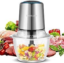 Electric Food Processor, MOSAIC 400W Mini Food Chopper for Vegetables Fruit Salad Onion Garlic...