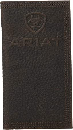 Debossed Ariat Logo Rodeo Wallet