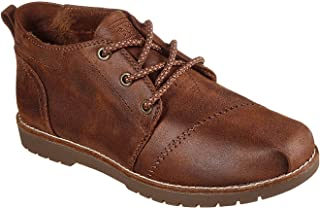 Bobs Skechers Women's Chill Lugs City Summit Ankle Boots, (Size 11, Brown)