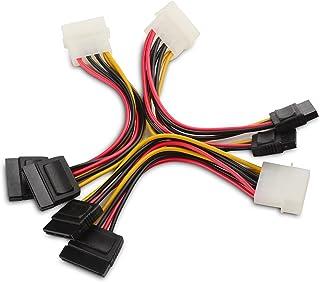 Cable Matters Câble Adaptateur en Y Molex vers SATA d'alimentation Double à 4..