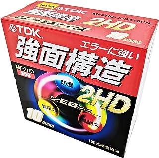 TDK MF2HD-256X10PN 強面構造フロッピー 10DISKS フォーマット済み