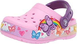 6f3cdd799 CrocsFunLab Butterfly Band Lights Clog (Toddler Little Kid). Crocs Kids