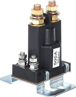 12V 200A Rel/é de arranque Placa de cola Arranque bomba de aceite Rel/é de interruptor magn/ético normalmente abierto Zerone Rel/é de arranque