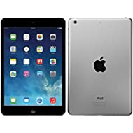 Apple iPad Air MD785LL/A (16GB, Wi-Fi, Black with Space Gray) (Renewed)