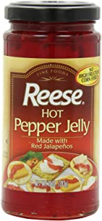 Reese Jelly, Hot Jalapeno, 10-Ounce (Pack of 6)