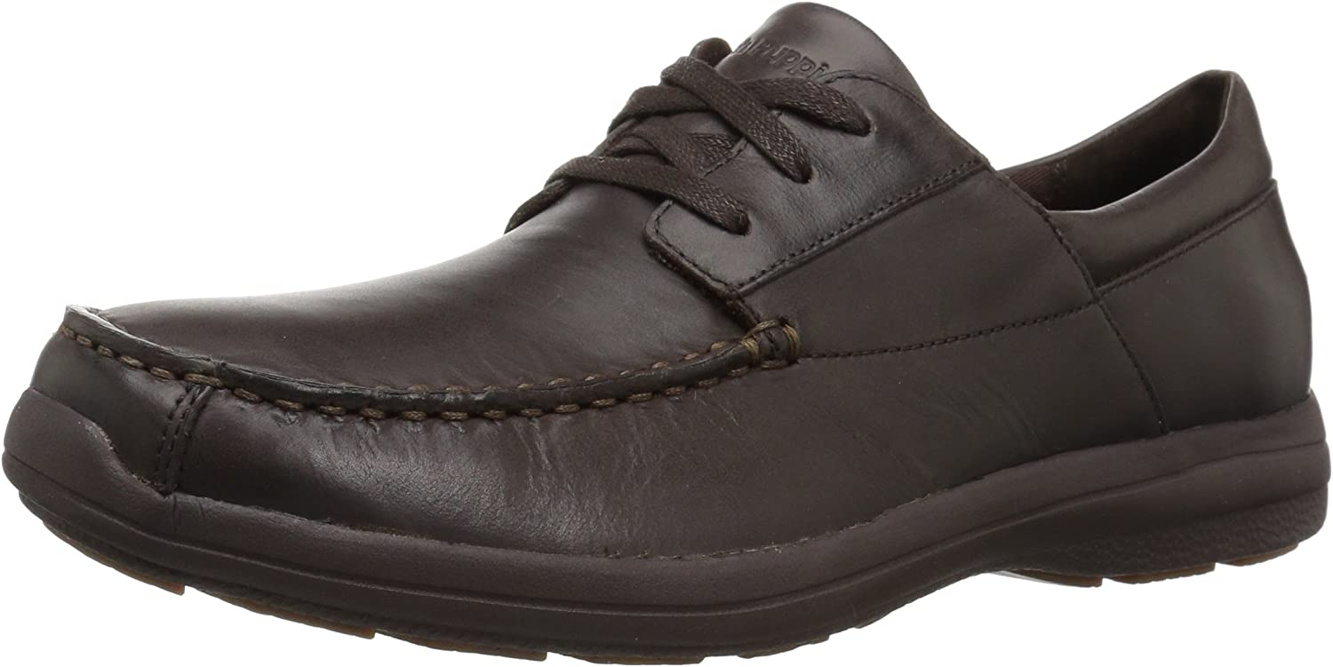 Hush Puppies Men's Balfour Patterson Oxford, Dark braun, 9 M US
