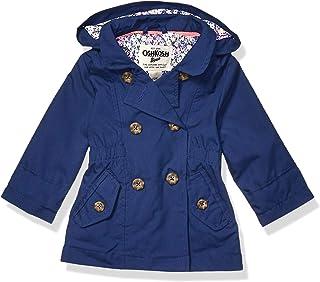 OshKosh B'Gosh Baby-Girls B119502 Hooded Trench Coat Jacket