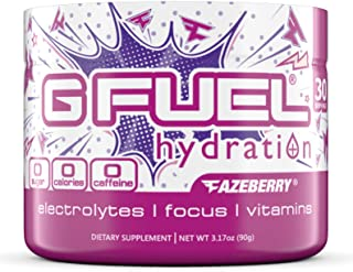 G Fuel Hydration FaZeberry Tub (30 Servings) Elite Hydration Formula
