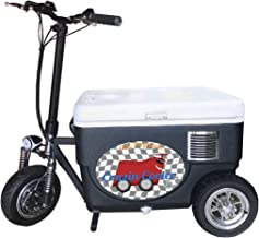 Cruzin Cooler CZ-HB Sport Motorized Ice Chest Scooter, 13 MPH Top Speed