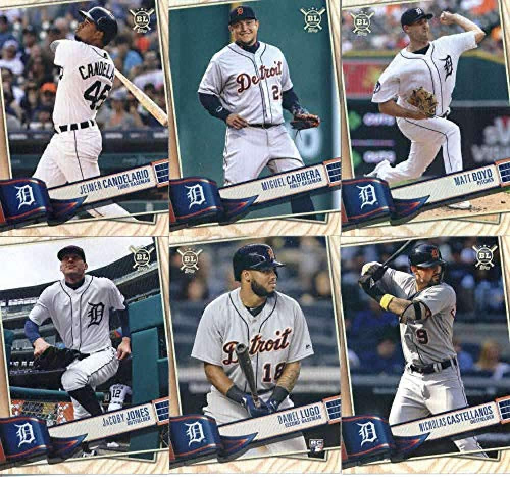 Reservation 2019 BIG LEAGUE All items in the store Baseball Topps Set Detroit Team product Tigers