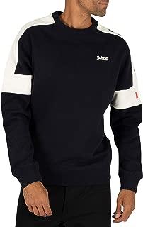 Schott Men's Logo Sweatshirt, Blue