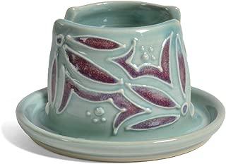 AshenWren Ceramics Sponge Holder, Teal