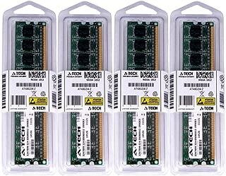 A-Tech 4GB KIT (4 x 1GB) for Dell Vostro 230 Mini Tower/Slim Tower 260 260s 460. DIMM DDR3 Non-ECC PC3-10600 1333MHz RAM Memory. Genuine Brand.