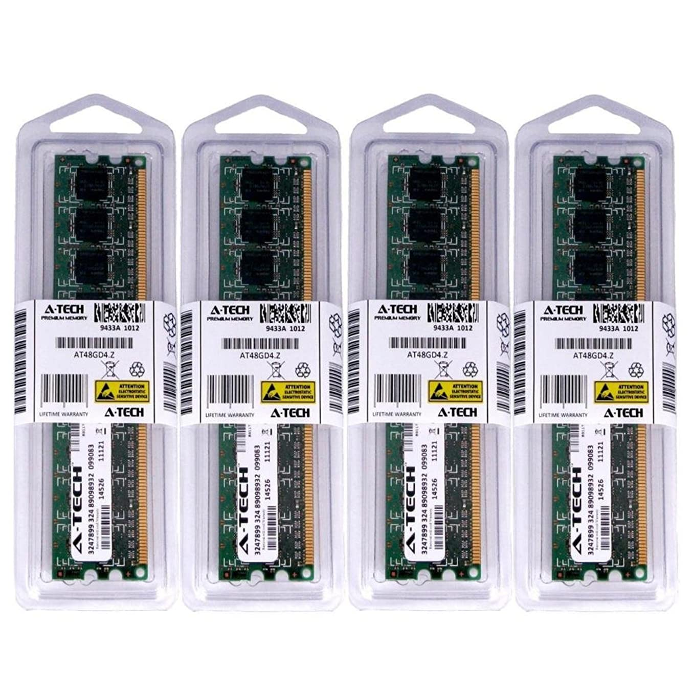 16GB KIT (4 x 4GB) for Dell Vostro 460. DIMM DDR3 Non-ECC PC3-10600 1333MHz RAM Memory. Genuine A-Tech Brand.