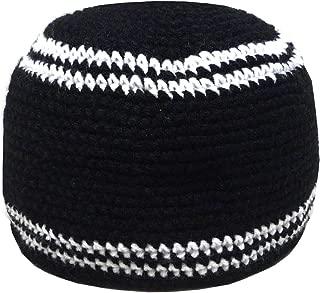 AMN001 Muslim Crochet Kufi Hat Taqiyah Takke Skull Cap Islam Headwear