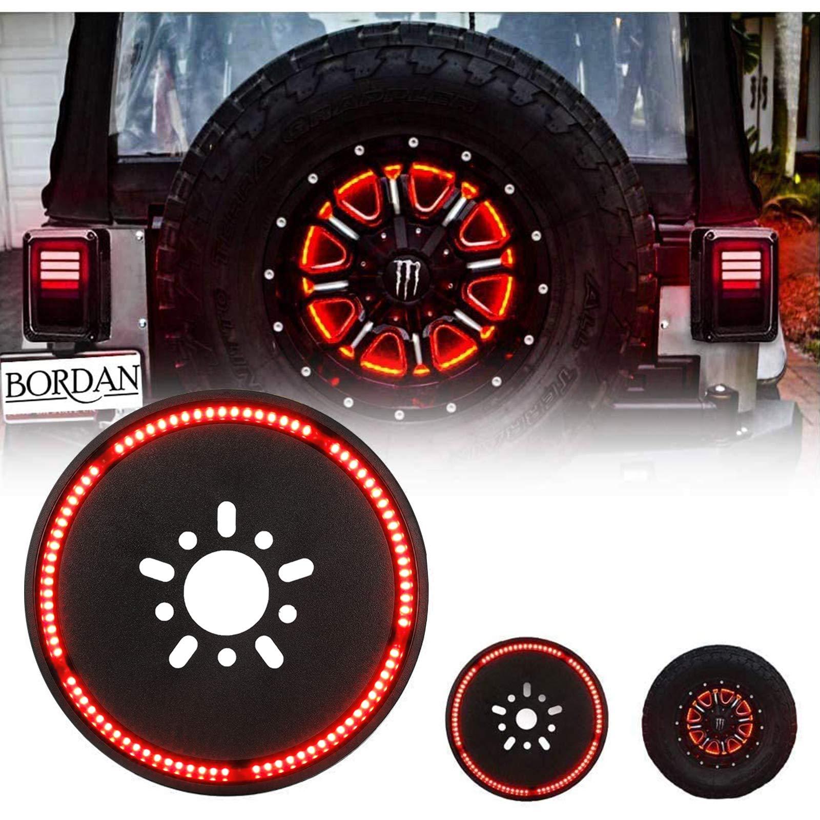 for Jeep Spare Tire Brake Light 3rd Third Brake Light Plug and ...