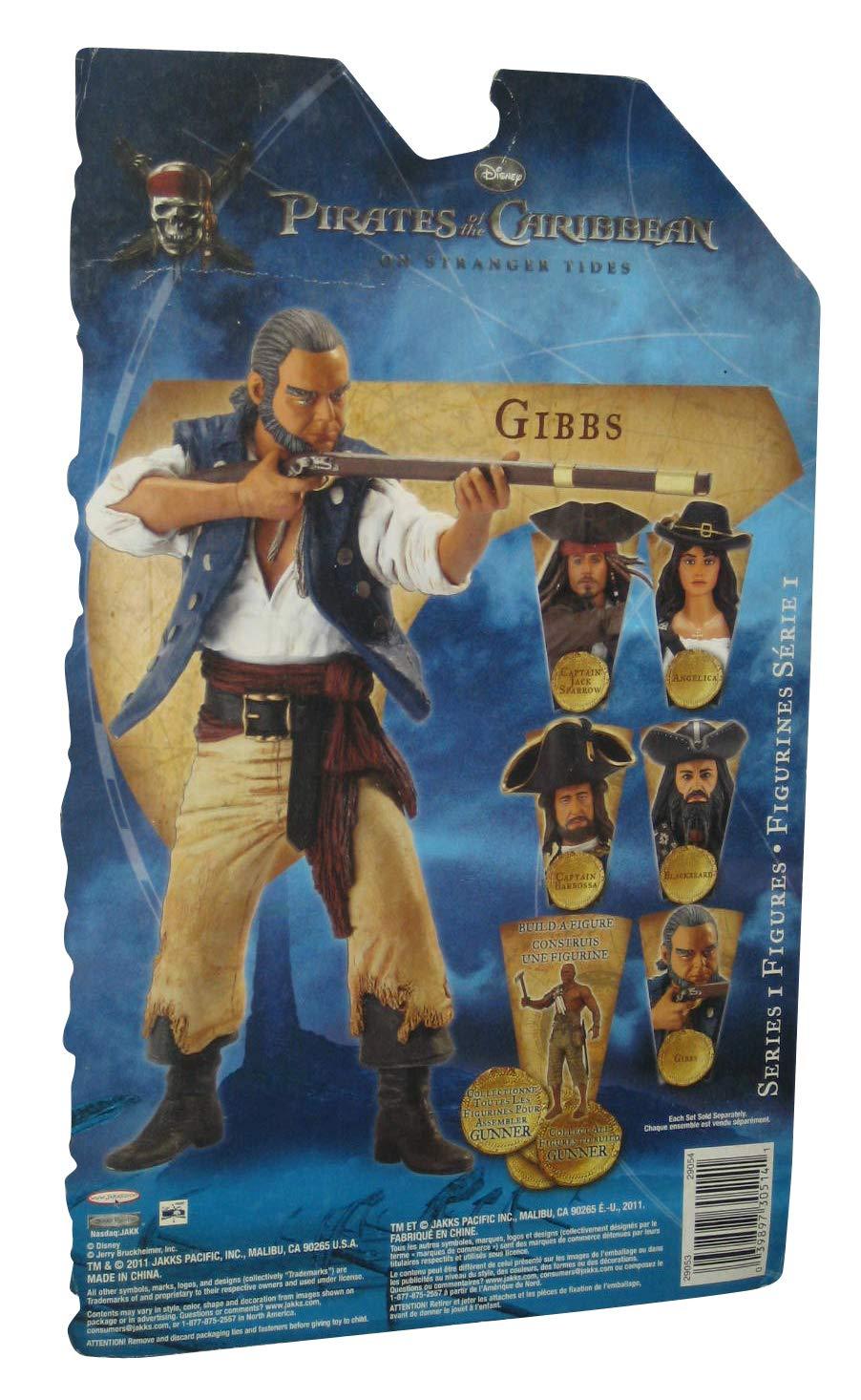 Pirates of the Caribbean 4: Gibbs Figurine 16cm by Jakks Pacific ...