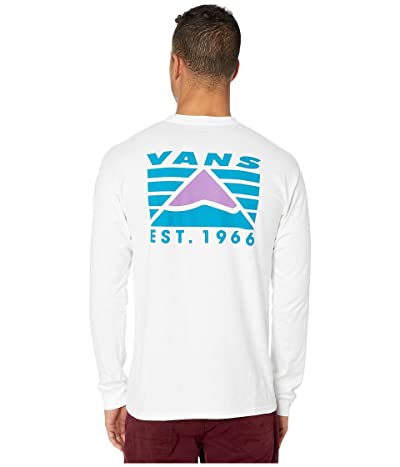 Vans Hi-Point Long Sleeve T-Shirt (White) Men