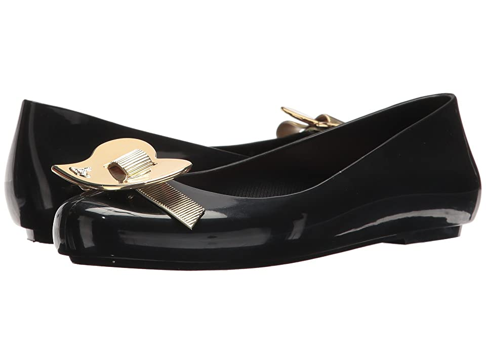 Melissa Shoes Vivienne Westwood Anglomania + Melissa Space Love III (Black/Light Gold) Women