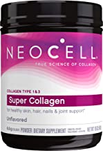 Best NeoCell Super Collagen Powder, 19oz, Non-GMO, Grass Fed, Paleo Friendly, Gluten Free, Collagen Peptides Types 1 & 3 for Hair, Skin, Nails and Joints (Packaging May Vary), 82 Servings Review