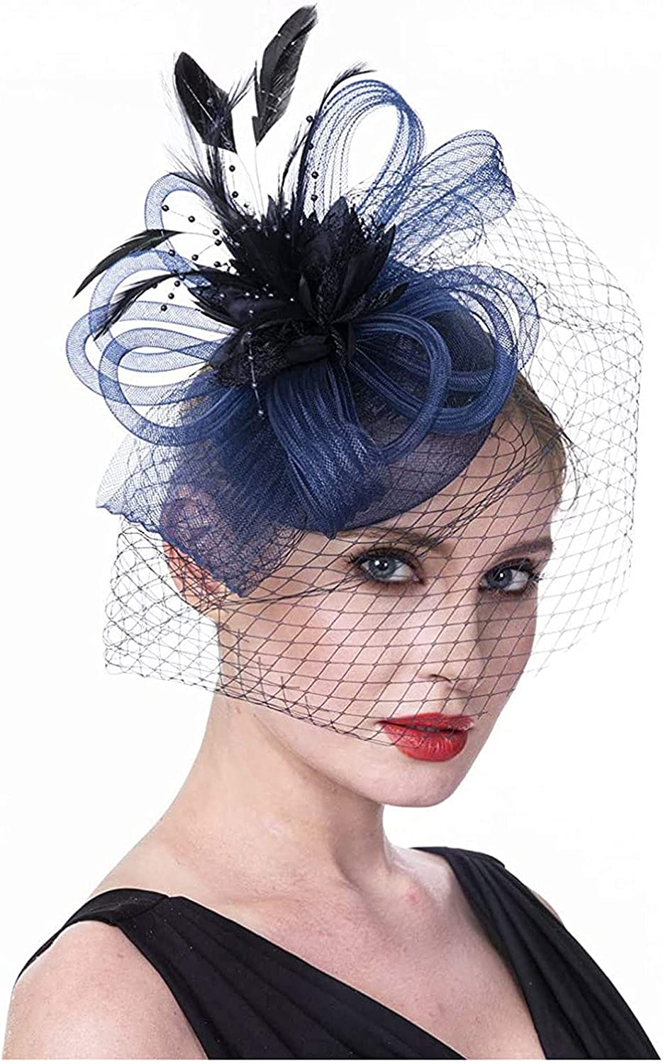 Sale Fascinators Hat for Women Fixed price for sale Girls Flap Party Headband Tea Cocktail