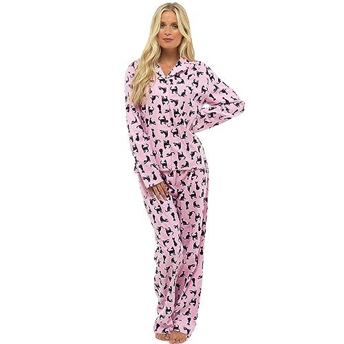 f46124999b CityComfort Ladies Comfy Pyjamas Women Soft Fleece Lounge Wear