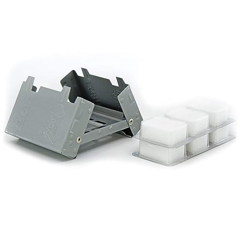 Esbit Ultralight Folding Pocket Stove with Solid Fuel Tablets 2ec898a1818