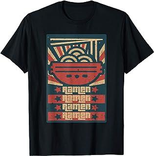 Vintage Japonais Nouilles Ramen Anime T-Shirt