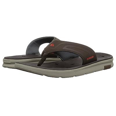 Quiksilver Amphibian Plus Sandal (Brown/Brown/Brown) Men