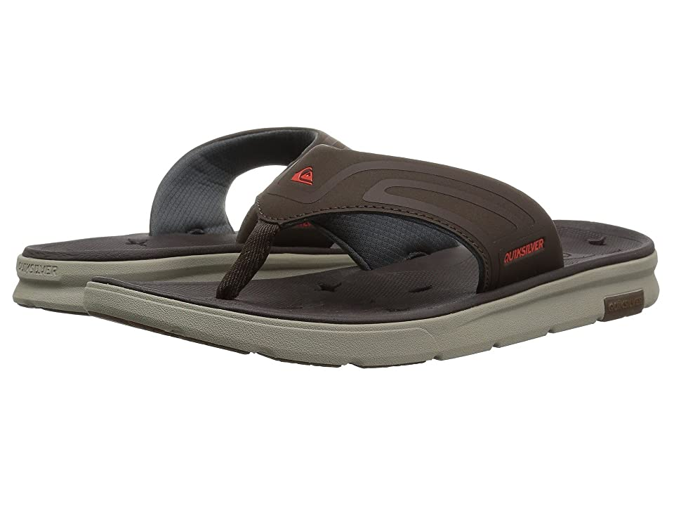 Quiksilver Amphibian Plus Sandal (Brown/Brown/Brown) Men's Sandals