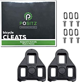 Positz Look Keo Cleats Black