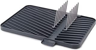 Joseph Joseph 85139 Flip-Up Drain Board with Foldable Dish Rack, One-size, Gray
