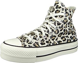 Converse CTAS Lift Hi Platform Chaussures DE Sport pour Femme Animalier 570915C