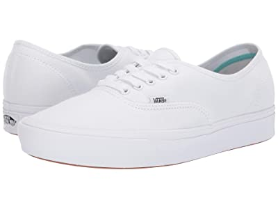 Vans ComfyCush Authentic ((Classic) True White/True White) Athletic Shoes