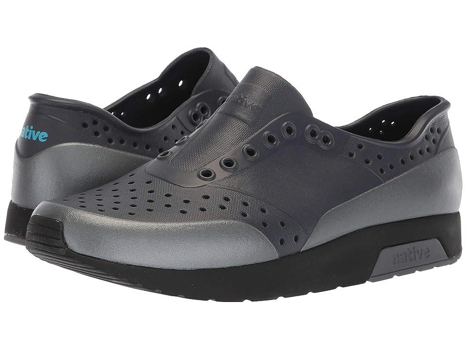 Native Shoes Lennox (Onyx Black/Jiffy Black/Dublin Grey/Gunmetal Block) Athletic Shoes