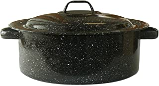 Granite Ware Covered Casserole, 3-Quart, Black