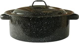 Granite Ware 0613-4 Covered Casserole, 3-Quart, Black