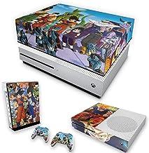 Capa Anti Poeira e Skin para Xbox One S Slim - Dragon Ball Z