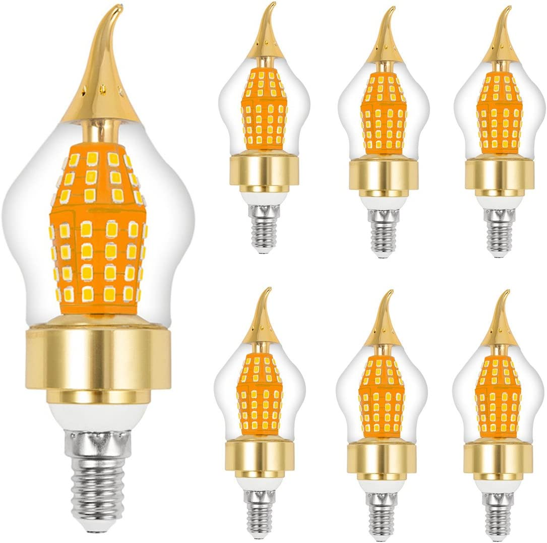cjc 激安通販ショッピング 15-Watt LED Candelabra Bulb Warm Base 正規取扱店 E12 3000K White