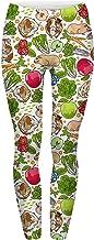 Green Veggies Guinea Pig Guinea Pig Print Pattern Lounge Pajama Yoga Pants Casual Soft Comfie Leggings S-M-L-Plus
