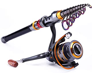 1.8-3.6m Telescopic Rod and 10+1BB Reel Set and Fishing Rod of 99% Carbon Materials Carp Fishing Rod Combo De