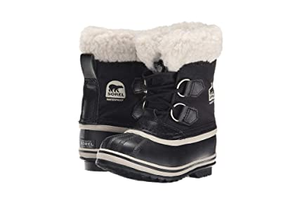 SOREL Kids Yoot Pactm Nylon (Toddler/Little Kid) (Black 1) Kids Shoes