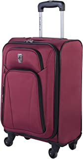Atlantic Altitude United States Carry-on Size - Spinner Carry-on Luggage 21.5-Inch, Red