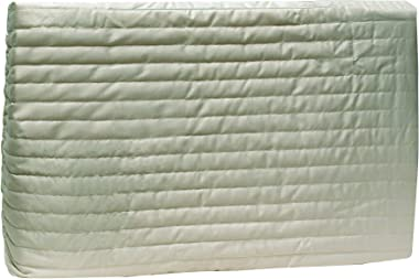 "Frost King AC9H Indoor Quilted 2-Piece Standard Air Conditioner Cover 25"" wide by 17"" tall by 4"" deep- Beige"