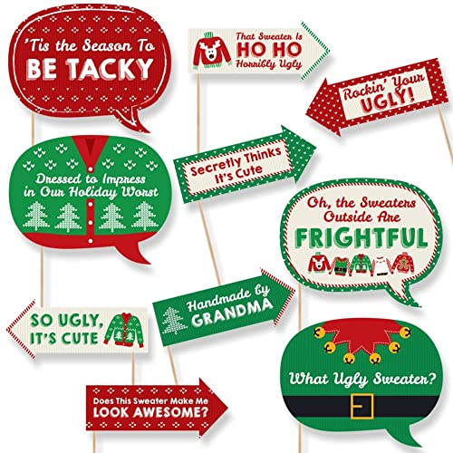 Ugly Christmas Sweater Party Decorations Amazoncom