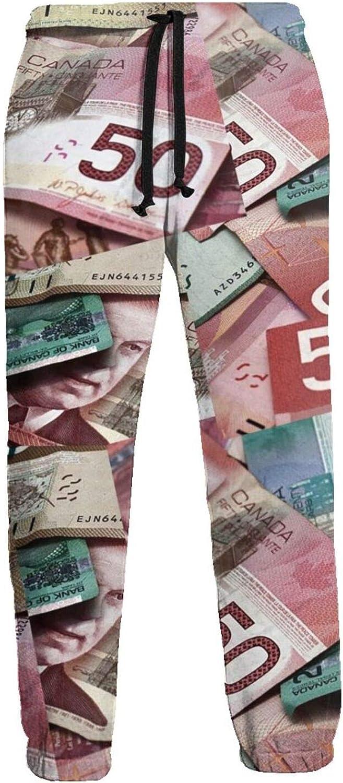 Men's Women's Sweatpants Canadian Dollar Athletic Running Pants Workout Jogger Sports Pant