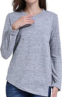 Elma & Me Women's Maternity Nursing Knit top