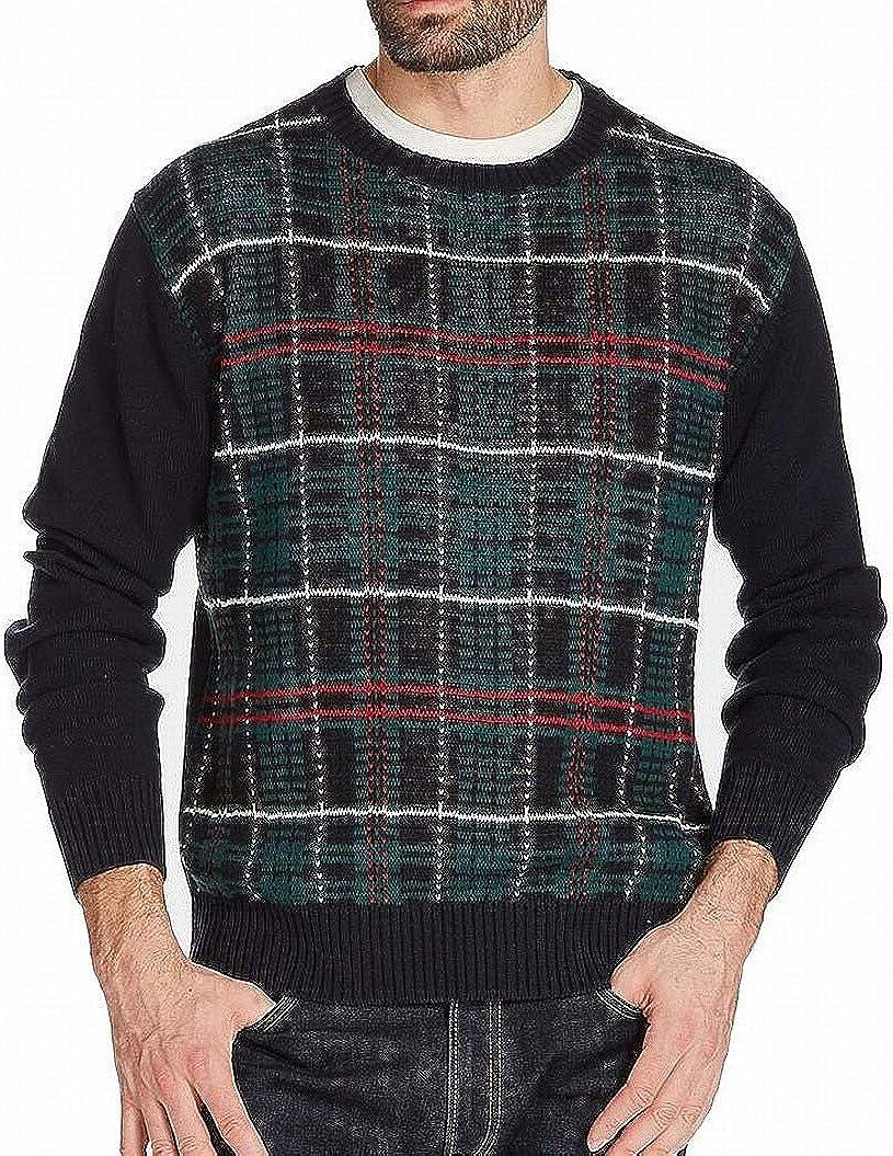 Weatherproof Vintage Men's Holiday Tartan Sweater