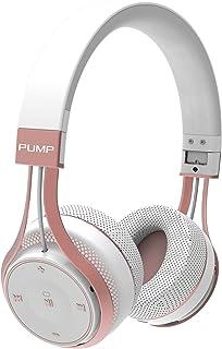Wireless BlueAnt Pump Soul on Ear Wireless Headphones, White Rose Gold, White Rose Gold, (Pump-Soul-WR)